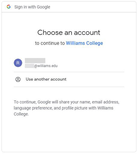 "Screenshot of Google ""Choose Login Account"" page"