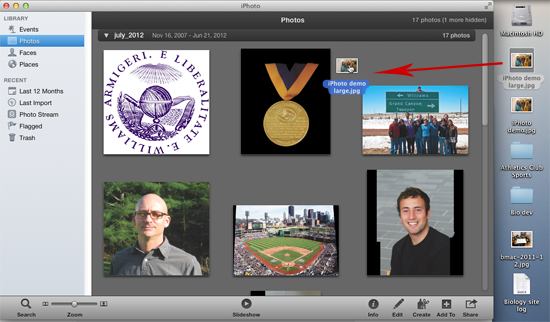 Drag-and-drop-image-onto-iPhoto