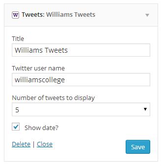 tweets-widget